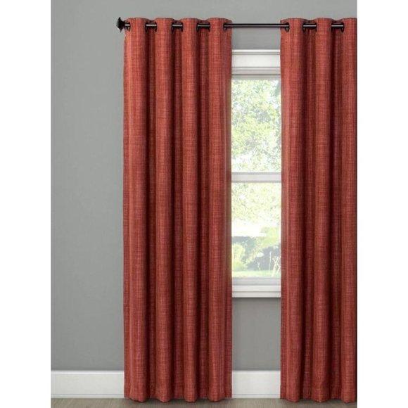Blackout curtain panel 84″ x 52″ grommet top Spice